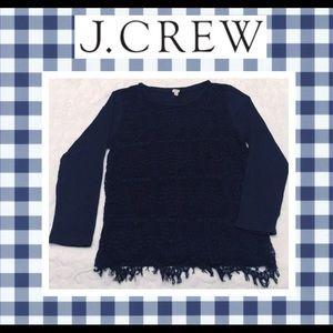 JCrew Lace Detailed Shirt
